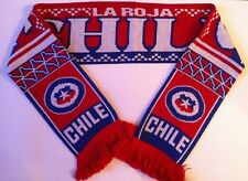 CHILE Football Scarve NEW from Superior Acrylic Yarns