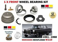 FOR MERCEDES HECKFLOSSE W110 1959-1968 NEW 1 X FRONT WHEEL BEARING KIT
