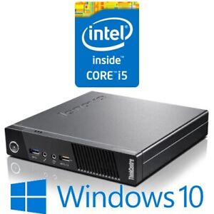 Lenovo ThinkCentre M73 Tiny PC Inte lCore i5 4570T 4G 128G SSD Win 10 Pro