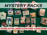 MYSTERY HOCKEY PACK - AMAZING VALUE - AUTOS & JERSEYS *READ DESCRIPTION*