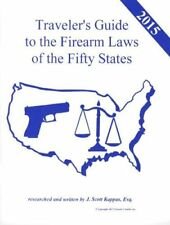 TRAVEL with FIREARM GUN LAWS 50 STATE CARRY GUIDE Book