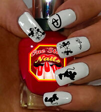 Disney Mickey And Minnie Water-slide Nails Decals Set of 58 MBW-002-58