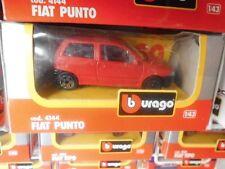 BURAGO FIAT PUNTO ROSSA COD. 4144 1/43  FONDO DI MAGAZZINO VINTAGE TOYS