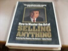 Tom Hopkins How To Master The Art Of Selling Anything 12 Cassete Used.