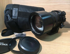 Exc+4 Bronica Zenzanon PE 100-220mm f/4.8 Aspherical IF Zoom Lens From JAPAN