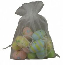 Bonito Mini Semana Santa Adornos Árbol - Madera Estampado Colgante Huevos