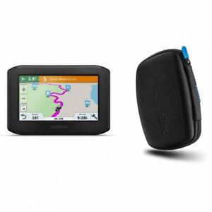 Garmin zumo 396 LMT-S GPS Protective Hard Carrying Case Bundle 010-02019-00