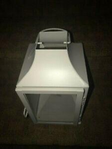 "Large WHITE Candle holder Lantern lamp wedding table centerpiece""NEW"""
