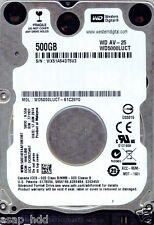 WESTERN DIGITAL SATA 500GB WD5000LUCT-61C26Y0,  DCM: HHKTJBB, HHKT2AN