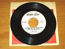 """PROMO NORTHERN SOUL 45 RPM - RICKY ALLEN - BRIGHT STAR 147 - """"NOTHING IN THE..."""""""