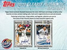 NEW YORK YANKEES 2020 Topps CLEARLY AUTHENTIC 2 Case (40 Box) Team Break #7