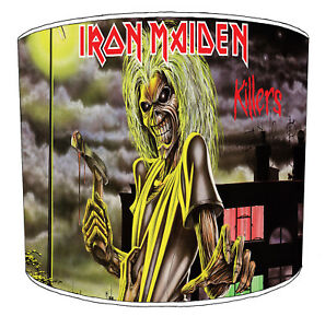 Iron Maiden Lampshades Ideal To Match Wall Decals Stickers Duvets Cushions