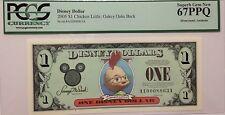 2005A $1 Chicken Little Disney  Dollar PCGS Graded Superb Gem New 67PPQ