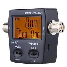 LED Digital SWR Wave Ratio Power Meter for HAM UHF/VHF 125-525MHz USB DC 5V P0GK
