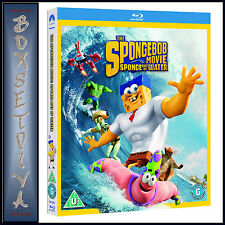 THE SPONGEBOB MOVIE: SPONGE OUT OF WATER  *BRAND NEW  BLU-RAY ***