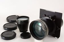 Nikon NIKKOR-T ED 360mm F8 + 500mm F11 Copal No.1 Shutter black  (3839)
