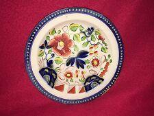 Staffordshire Pearlware Gaudy Dutch Single Rose Plate Ca. 1820