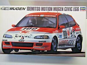 Hasegawa 1:24 Scale Idemitsu Motion Honda Mugen Civic EG6 Model Kit # 20286 Ltd.