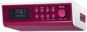 Hama IR320 Internetradio Küchenradio pink magenta Unterbauradio  Streaming WLAN