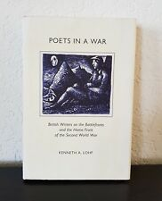1995 POETS IN A WAR Inscribed  Kenneth LOHF HCDJ BOOK Second War British Writers