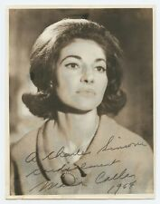 Maria CALLAS (Opera): Signed Vivienne Photograph