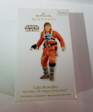 LUKE SKYWALKER HALLMARK ORNAMENT STAR WARS: THE EMPIRE STRIKES BACK DATED 2010