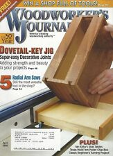 Woodworker's Journal (April 2006) Dovetail-Key Jig, Super-Easy Decorative Joints