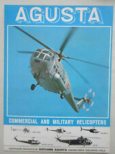 6/1969 PUB GIOVANNI AGUSTA BELL AB-206 AB 205 AS-61 HELICOPTERS ORIGINAL AD