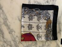 Authentic Cartier Silk scarf , RRP $1385