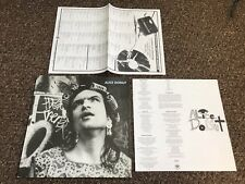 ALICE DONUT - MULE - NO RECORD - SLEEVE, LYRIC SHEET,LABEL LIST SHEET - ONLY!!!