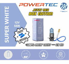 Powertec by M-Tech H3 Superwhite +100% Xenon Look Halogen Neu Box Edition + W5W