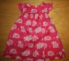 Nwt Gymboree Elephant Oasis size 18-24 Months Pink Flower Dress