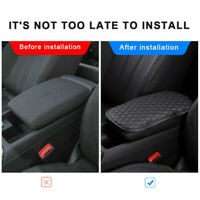 Car Armrest Pad Cover Center Console Box Cushion Anti-scratch Mat Universal