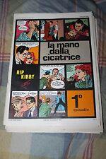 Lotto 9 fumetti RIP LIRBY GIM TORO BRICK BRADFORD Club anni 30 vintage ristampe