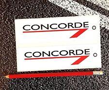 CONCORDE Stickers 16cm British Airways Aviation Aeroplane Airliner Supersonic