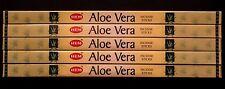 40 Sticks 5 Packs ALOE VERA Floral Sweet Scent Air Freshener Incense Insence HEM
