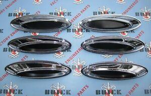 1961 Buick LeSabre, Invicta Fender Porthole Set of 6. Ventiports