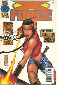 °X-FORCE #67 DANI MOONSTAR FRIEND OR FOE?° US Marvel 1997 CABLE; ZERO TOLERANCE