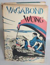 ANTIQUE 1936 Children's Book VAGABOND WONG