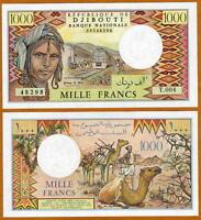 Djibouti 1000 Francs (1988) P-37 (37e), UNC