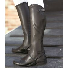 Mark Todd Close Fit Soft Leather Half Chaps Brown Medium/Standard BNIB