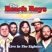 THE BEACH BOYS FEAT. BRIAN WILSON - Live In The Eighties. New CD + Sealed