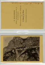 F. Rollinger, Autriche, Österreich, Weinzettelwand Tunnel, Breitenstein CDV vint