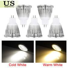 5 Pack LED Bulbs Spotlight 6W 9W 12W MR16 COB Lamp Down Light Spot Bulb Bright