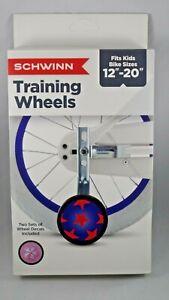 """Schwinn Bike Training Wheels 12""""-20"""" bikes with 2 sets decals"""