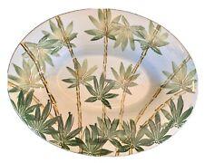 "Antica Fornace Ceramiche Da Tavola MADE IN ITALY Bamboo Platter 20+"" Very Nice!"