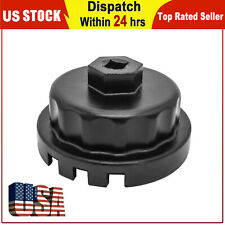 645mm 14 Flutes Oil Filter Cap Wrench Cup Socket Remover Tool For Toyota Lexus