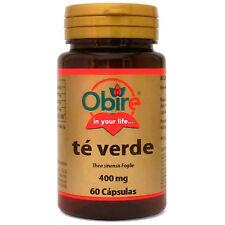 Te verde 400 mg. 60 capsulas Obire / colesterol - Retencion de Líquidos