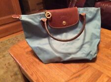 Small Long champ Purse Blue Used Authentic