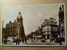 1934 Used RP Postcard- CITY SQUARE AND SAVILE STREET, HULL, Yorkshire + STAMP